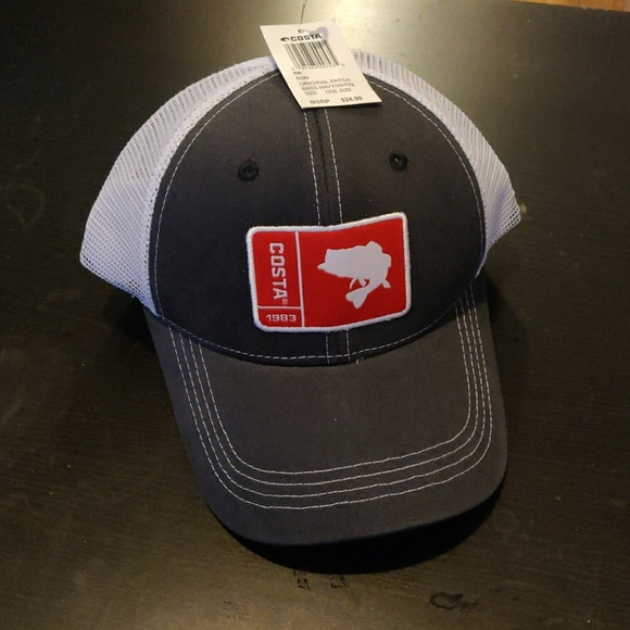 71b6444059 Costa Original Patch Bass Hat